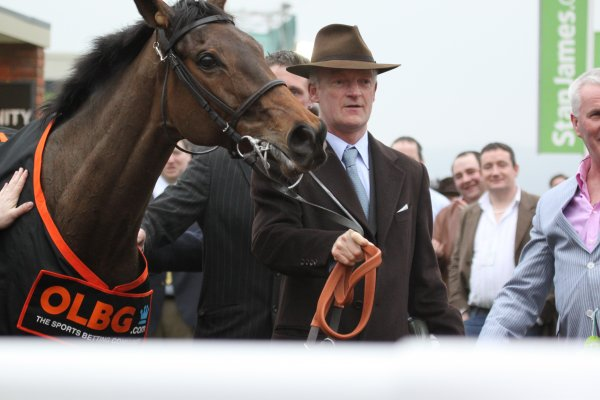 Willie Mullins with Cheltenham Festival Winner Quevega