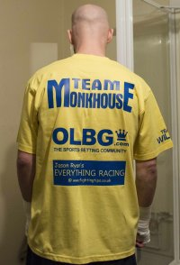 Frankie Monkhouse Boxing Sponsorship