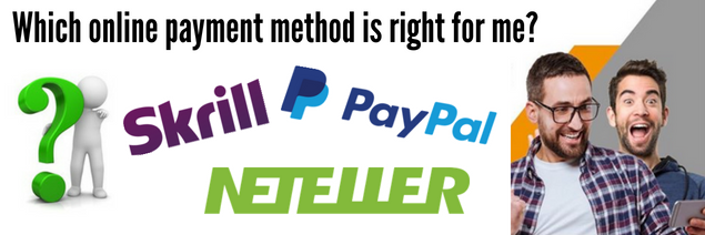 Why use an online payment method