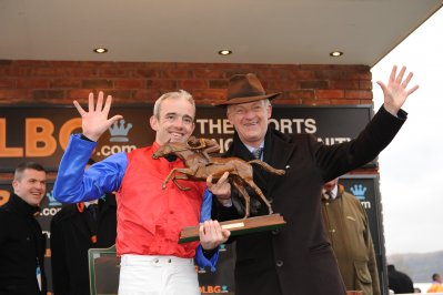 Willie Mullins and Ruby Walsh