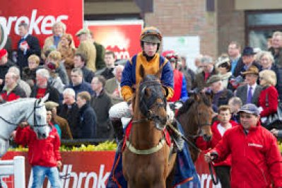 Andrew Lynch rides Champagne West, here pictured aboard whatuthink