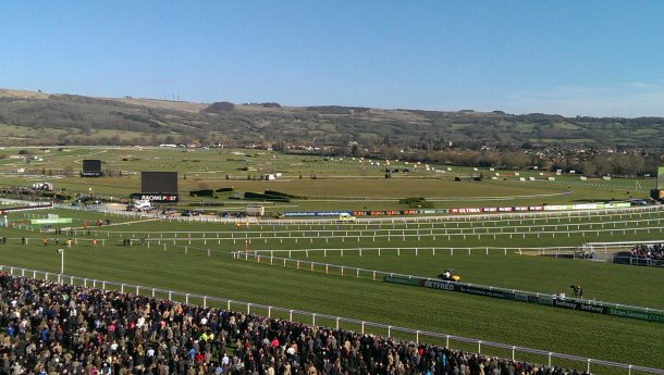 Cheltenham Racecourse during the Cheltenham Festival