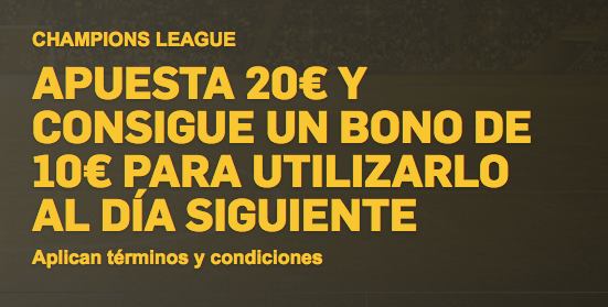 betfair offer ucl