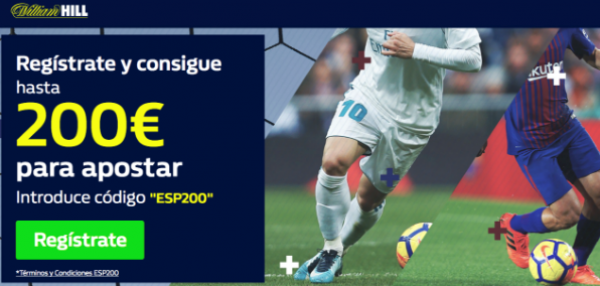 William Hill Espana Register
