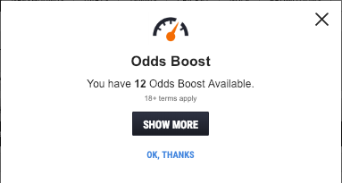 Available Odds Boost from Ladbrokes
