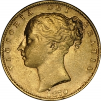 1870 Sovereign